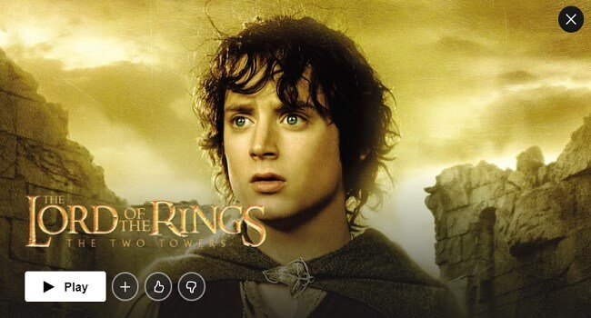 Netflix Action Movie - The Lord of the Rings